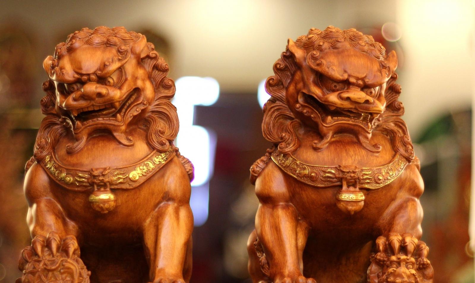138. Các tượng linh vật chiêu tài hiện nay
