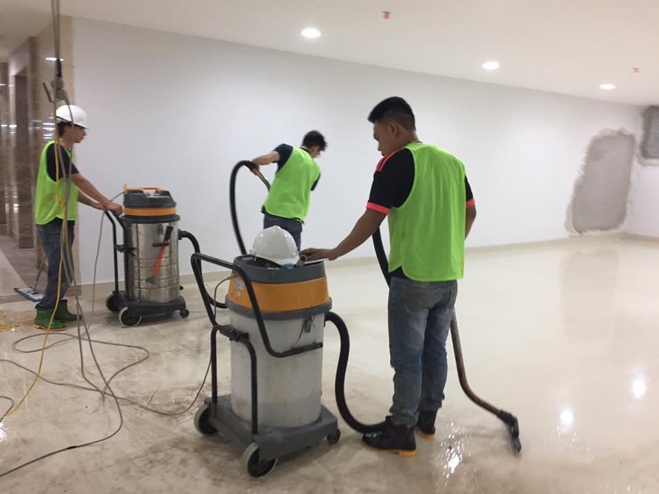 Tổng vệ sinh tòa nhà - Dịch vụ vệ sinh công nghiệp nổi tại Hà Nội dịp cuối năm (2)
