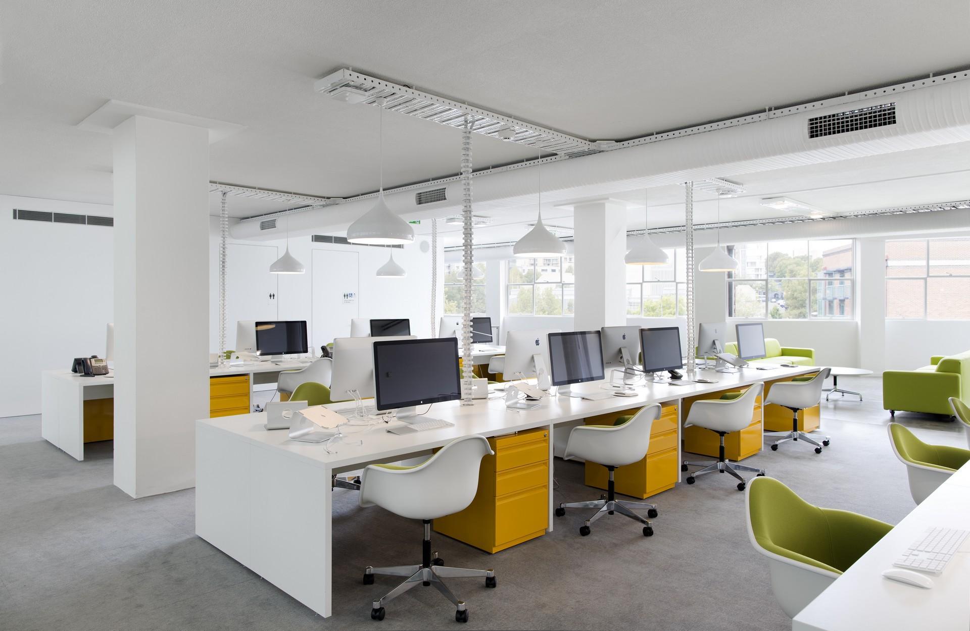 Thiết kế dự án nội thất văn phòng mang phong cách hiện đại1