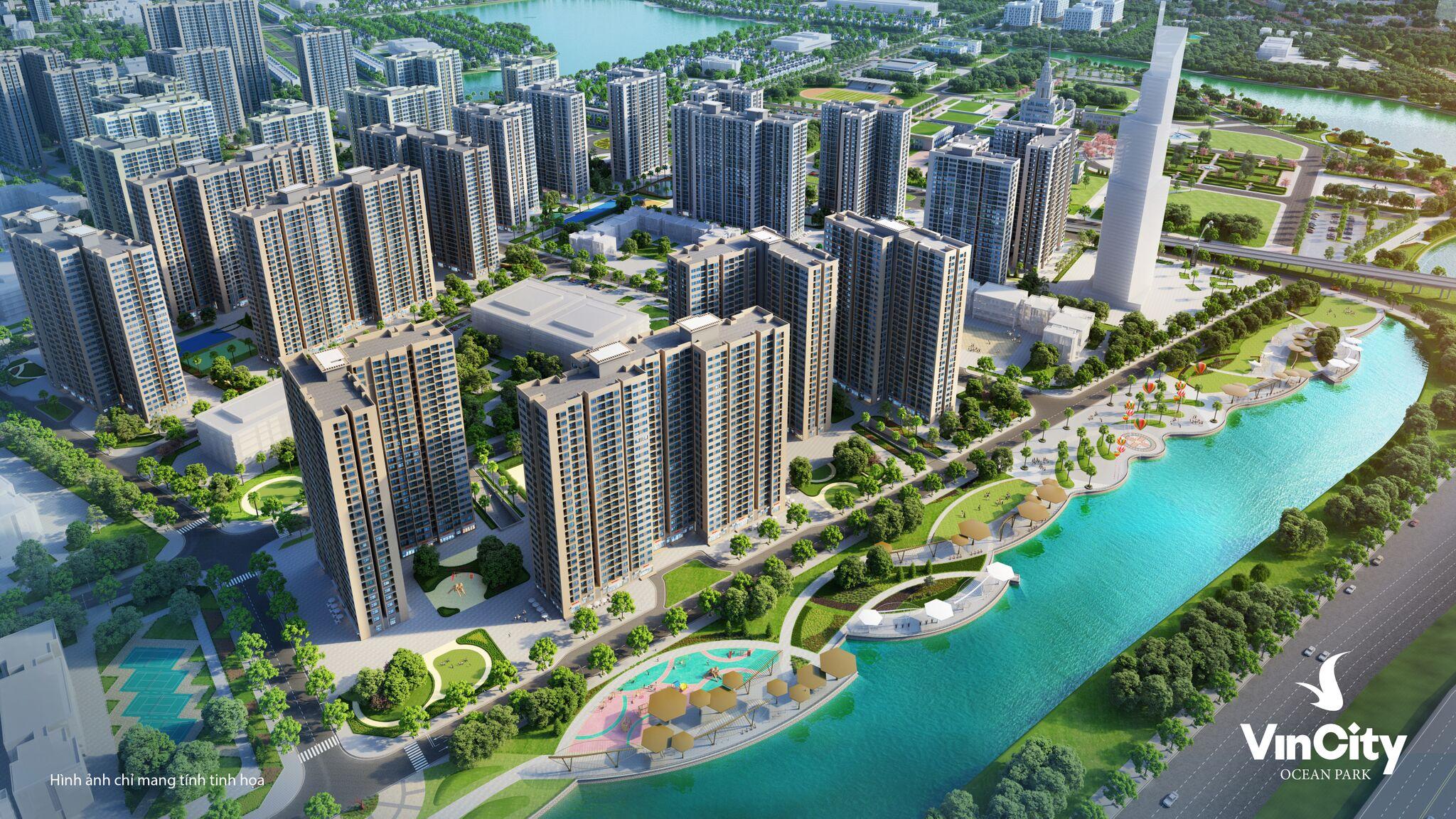 Tiện ích nội khu đạt chuẩn quốc tế tại khu đô thị Vincity Gia Lâm