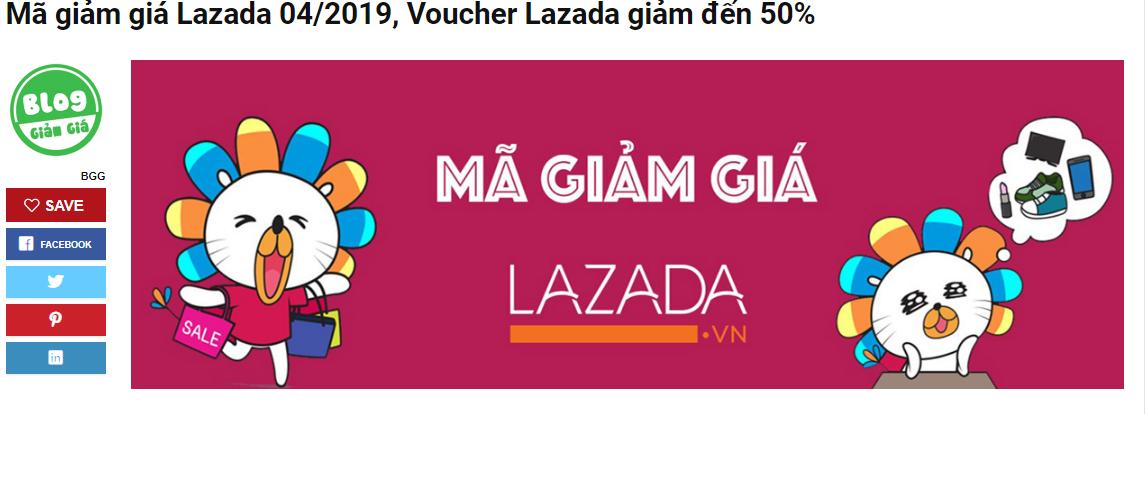 Hướng dẫn khách hàng mới lấy mã giảm giá Lazada | ĐẠO TẠO VIỆT