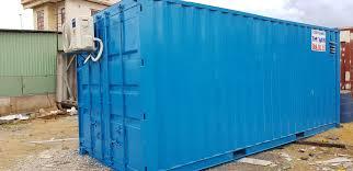 Nên xây dựng văn phòng kiên cố hay sử dụng container cũ.