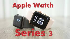 Xử lý công việc hiệu suất cao với apple watch 3 mới.